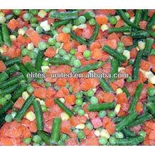 Prix des légumes mélangés surgelés en Chine