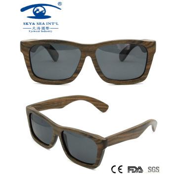 Italy Design Walnut Wooden Sunglasses