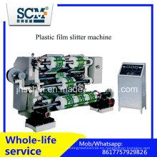 Scm BOPP cortadora de película de plástico y máquina de rebobinado