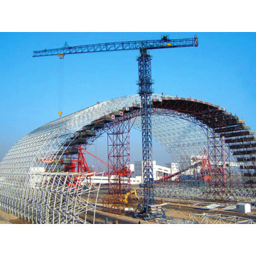 Space Frame Truss Arch Coal Storage Shed