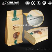 Waschbare Kraftpapier Tasche für Kraftpapier Tasche mit Fenster