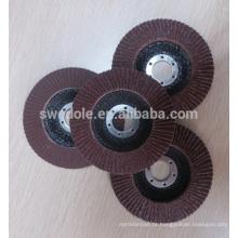 roda de aba de óxido de alumínio para aço inoxidável