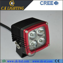heavy duty with cree led truck work lamp 40w 4x4 fog light for jeep