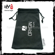 Multifunctional new products custom sunglass case, headset pouch with logo, microfiber lens cloth pouch