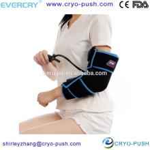 EVERCRYO nueva envoltura de compresión médica para el cuidado de los músculos del codo.