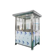 Outdoor Security Guard House Portable Metal Booth Outdoor Traffic Booth