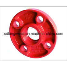 Ductile Iron 300psi Grooved Threadead Flanges