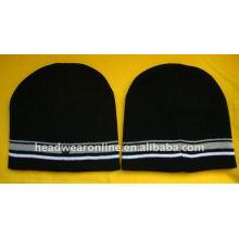 Witer bennie chapéus com logotipo de impressão
