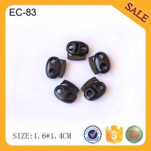 EC83 Gun Federende dekorative Metallschnurstopper