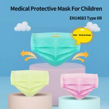 Mascarillas médicas desechables CE para niños