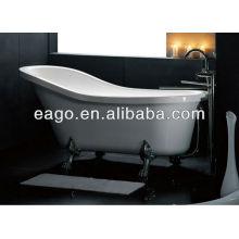1 Person Acrylic Clawfoot Slipper Tub (GFK1700-1)