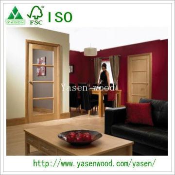 Sample New Design Interior Wood Veneer Door