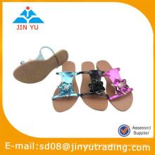 2015 nouvelle sandale décontractée en cuir africain