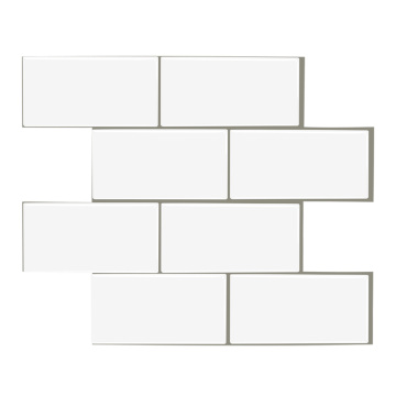 Bathroom self-adhesive kitchen 3d wall tile stickers
