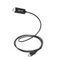 1.8m Chapado en oro Displayport Dp a HDMI Cable