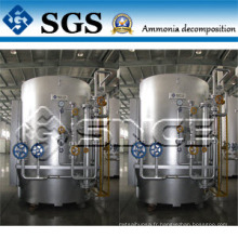 Plantes à gaz de décomposition NH3 pour four à traitement thermique