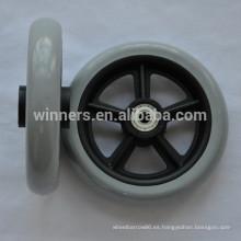 5 pulgadas 6 pulgadas 7 pulgadas ruedas del echador de la silla de ruedas de 8 pulgadas