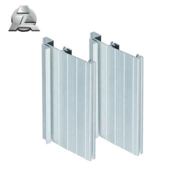Profilé de seuil de porte en aluminium extrudé anodisé 6063 t5