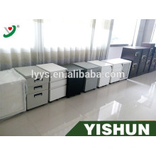 metal stainless office plastic 4 drawers file cabinet with lock
