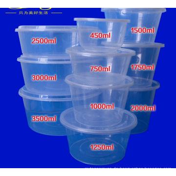 PP-Einweg-Mikrowellen-Nahrungsmittelbehälter
