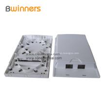 2 Port FTTH Indoor Fiber Optic Termination Box Socket Panel