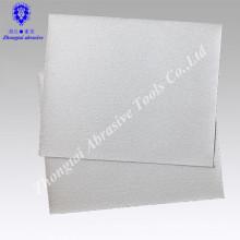 Papel de lija abrasivo revestido blanco de 23 * 28cm P80 para la madera