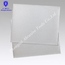 Papel de lixamento abrasivo revestido branco de 23 * 28cm P80 para a madeira