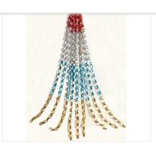 Longueur de rideau en aluminium accrochant 47 pouces avec le matériel de feuille