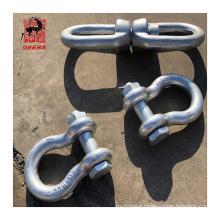 US Type Galvanized steel Marine Anchor Link Chain shackle