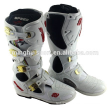Winter Popular Waterproof Racing Motocross Boots For Men Moto Bike Leather Botas Motorcycle Shoes