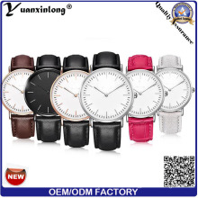 Yxl-005 2016 Hot Sell Daniel Nylon Dw Watch for Quartz Stainless Steel Case Watch