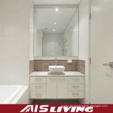 PVC Badezimmer Schränke Spiegel Vanity für Großhandel (AIS-B012)
