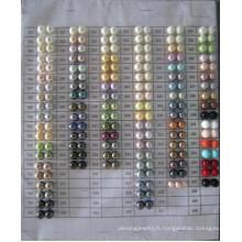 Tableau de couleurs des perles de coquille Daking