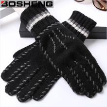 Мужская теплая зимняя трикотажная перчатка с тепловой подкладкой