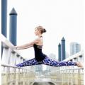 Muchachas que llevan los pantalones de nylon del yoga de Spandex, venta al por mayor de la ropa de la yoga, polainas nuevas de las señoras modelo