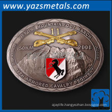 customize belts buckles, custom high quality oval shaped belt buckles