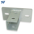 Unistrut Square Perforated Channel Base Post