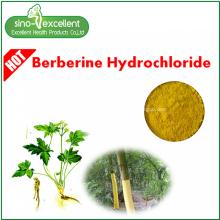 Clorhidrato de berberina 97% extracto de hierba