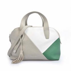 Leather Multi Color Tassel Tote Travel Trendy Handbag