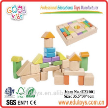 High Quality Beechwood Wooden Building Blocks