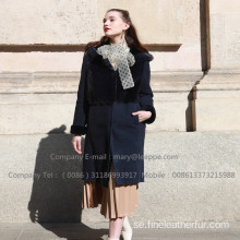 Reversibel Kopenhagen Mink Fur Overcoat Winter For Lady