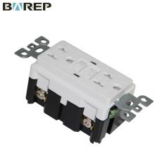 Soquete certificado do receptáculo elétrico do receptáculo do gfci de 15A 125v
