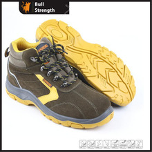 Industry Leather Safety Shoes with PU/Rubber Sole (SN5287)