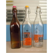 Airtight Glass Oil Bottle Swingtop DH35OZ