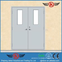 JK-F9007 Железная и стеклянная противопожарная дверь