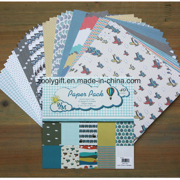 """DIY Scrapbooking 6X6 """"Pack de papel con dibujos Papel hecho a mano Scrapbook de dibujos animados"""