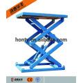 Elevador de carro de tijera estacionario hidráulico portátil con ce