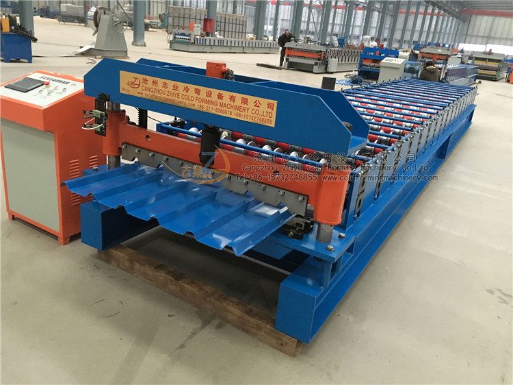Trapezoidal Roofing Sheet Form Machine