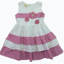 Summer Beautiful Dress in Hot Sale Kids Clothes (SQD-126)