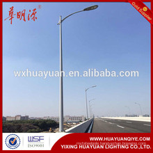 10m street light pole with Single arm